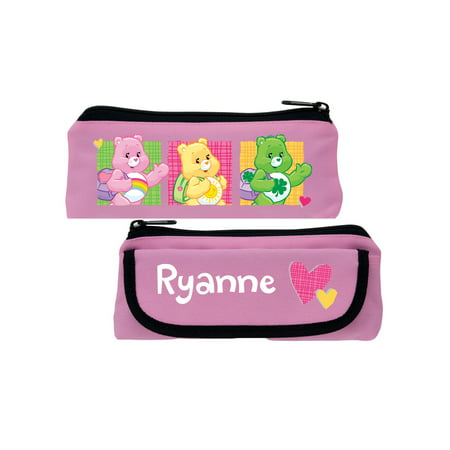 Personalized Care Bears Classroom Cutie Pink Pencil Case