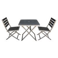 Boraam 3-Piece Fresca Folding Dining Set