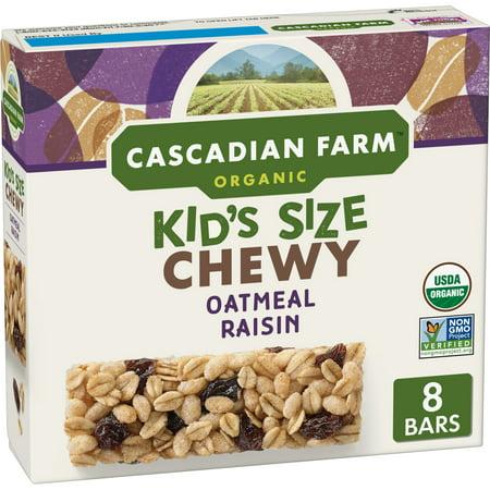 Cascadian Farms Organic Granola Bars (Cascadian Farm Organic Granola Bars Oatmeal Raisin 8)