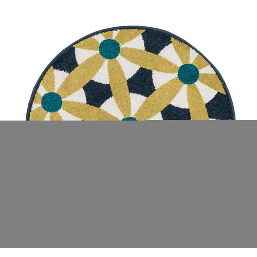 Ebern Designs Laudenslager Yellow/White Area Rug