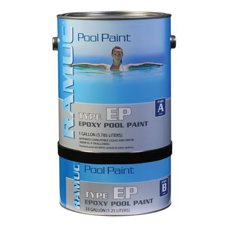 type ep epoxy swimming pool paint dawn blue 1 gallon. Black Bedroom Furniture Sets. Home Design Ideas
