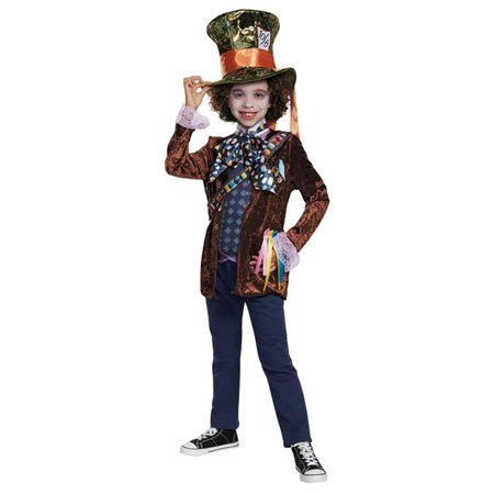 Morris Costumes DG10134K Mad Hatter Classic Child Costume, Size 7-8](Mini Mad Hatter Hats For Sale)
