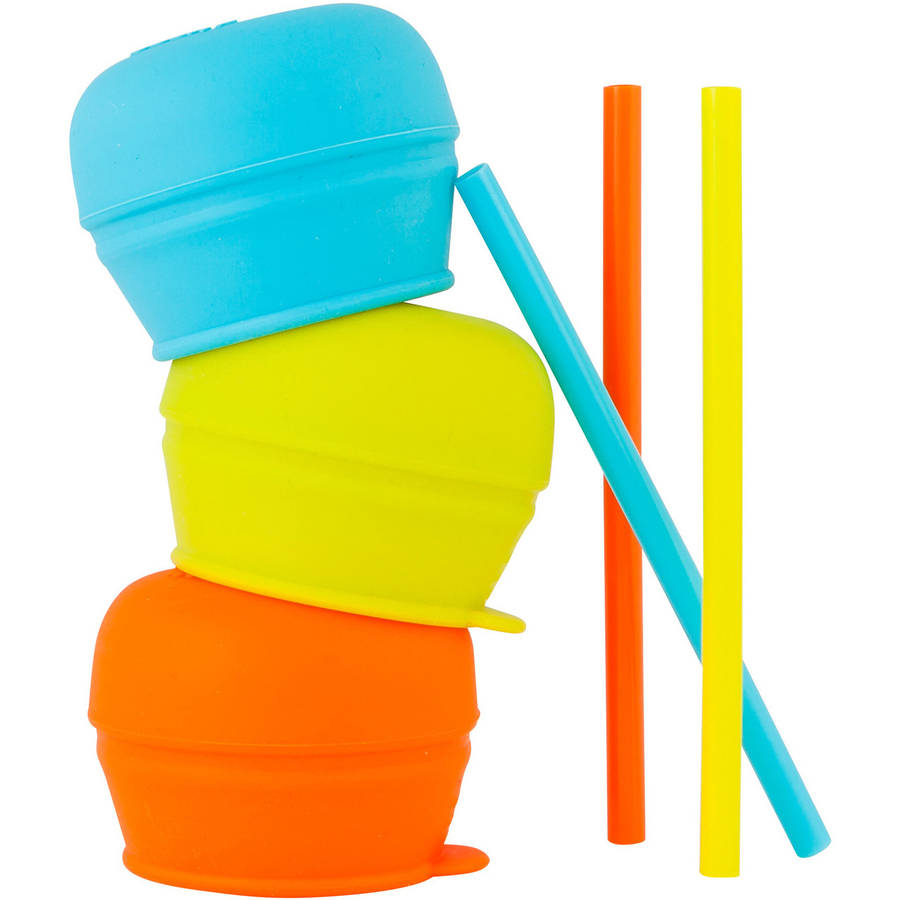 Boon SNUG Straw, 3pk, Choose Your Color
