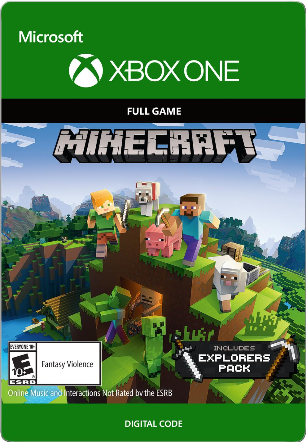 Minecraft: Explorer's Pack Xbox One (Email Delivery) by INTERACTIVE COMMUNICATIONS
