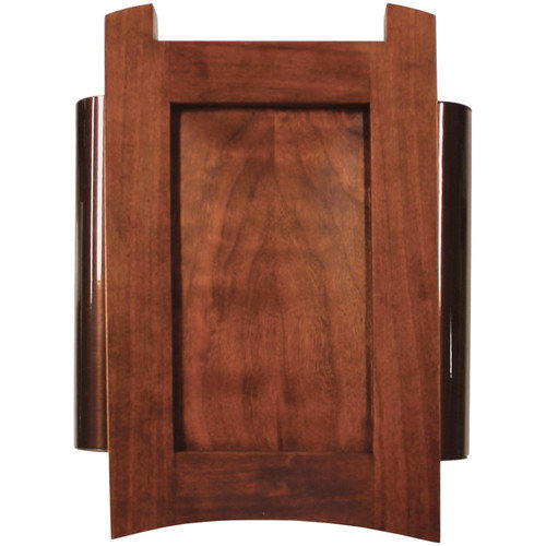 Heath-Zenith Wired Door Chime with Solid Cherry Mahogany Cover