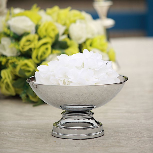 BalsaCircle 12-Inch tall Compote Bowl Centerpiece Pedestal Table