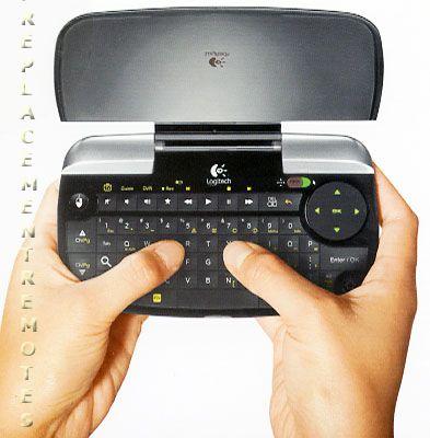 Logitech Revue Mini Google TV Remote Control (p/n: 920003038) Google TV Remote Control (new)