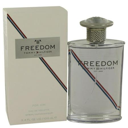 FREEDOM by Tommy Hilfiger Eau De Toilette Spray (New Packaging) 3.4 oz for Men