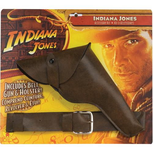 Indiana Jones Gun with Belt and Holster Adult Halloween Accessory