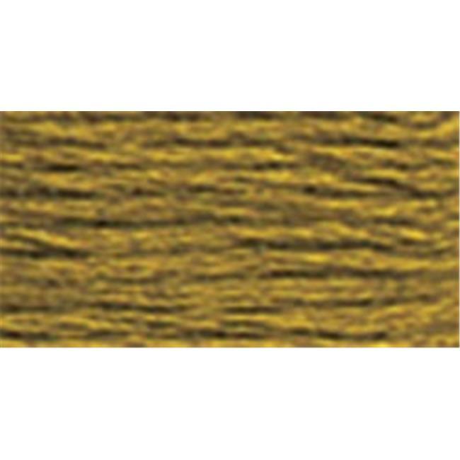DMC Six Strand Embroidery Cotton 100 Gram Cone-Golden Olive Medium