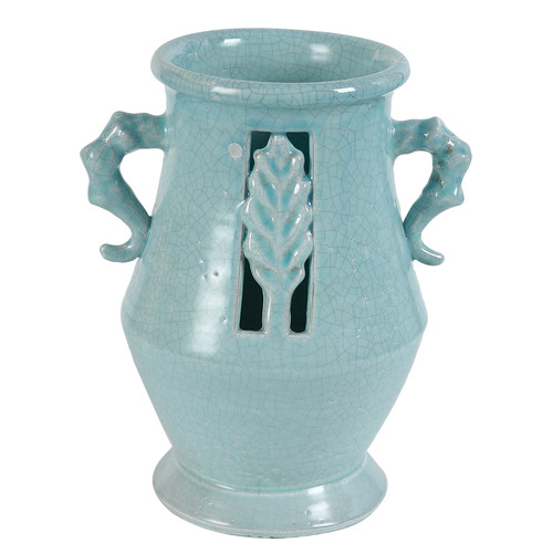 Established 98 Celeste Cutout Vase