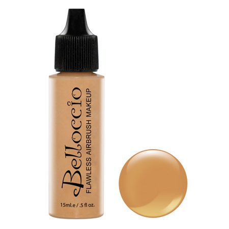 Belloccio Pro Airbrush Makeup CAPPUCCINO SHADE FOUNDATION Flawless Face Cosmetic](Grinch Face Makeup)