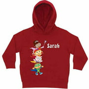 Personalized Super Why! Hip Hip Hurray! Toddlers' Red Hoodie