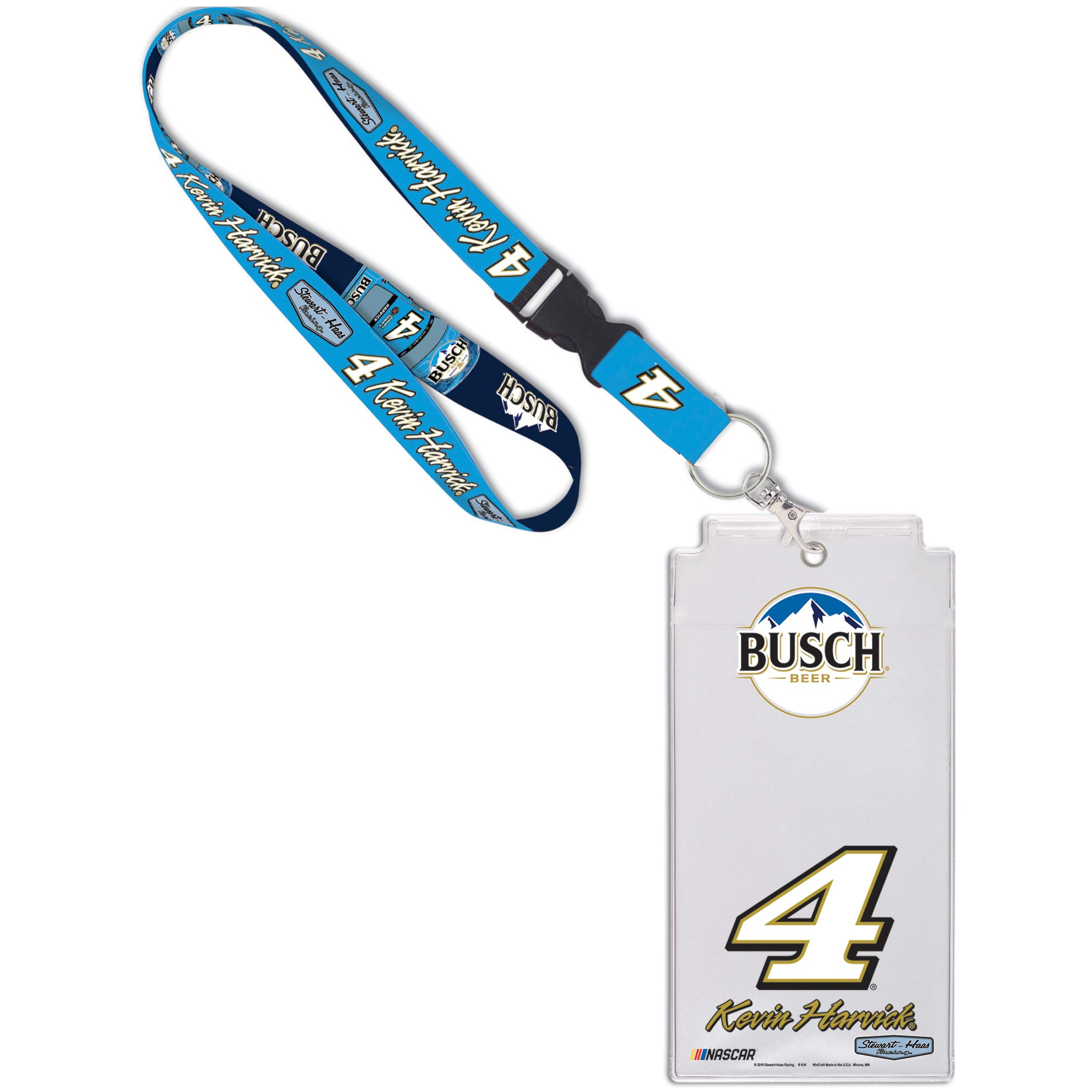 Kevin Harvick WinCraft Busch Driver Name & Number Credential Holder - No Size