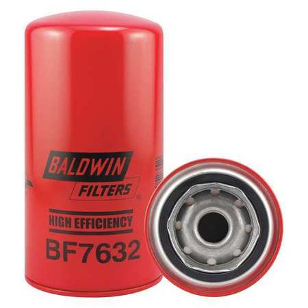 Fuel Filter,7-1/8 x 3-11/16 x 7-1/8 In BALDWIN FILTERS BF7632