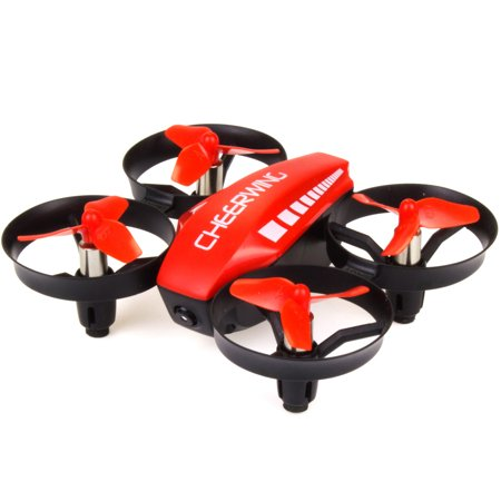 Cheerwing CW10 Mini RC Drone Wifi FPV Drone with Camera Remote Control Quadcopter with Altitude Hold and One Key Take-off / Landing