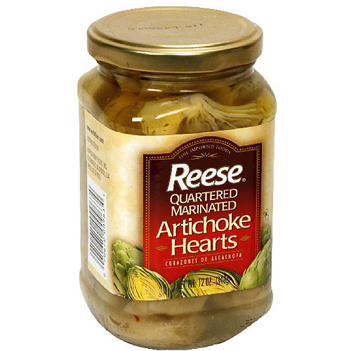 Reese Quartered Marinated Artichoke Hearts, 12 oz (Pack of 12)