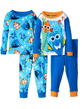 75d0f5ec2b Product Image Disney Boys  Finding Dory 4-Piece Cotton Pajama Set