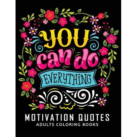 Motivation Quotes Adults Coloring Books : Stress-Relief Adults Coloring Book for Grown-Ups Balloon Animals Book