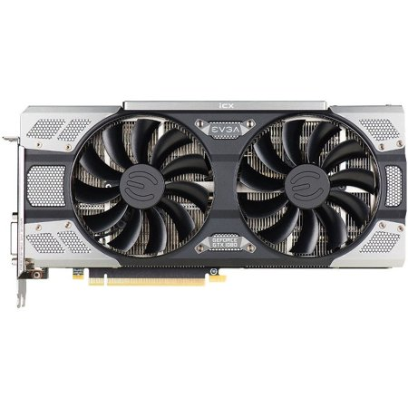 Evga Geforce Gtx 1080 Ftw2 Gaming, 08g-P4-6686-Kr, 8gb Gddr5x, Icx - 9 Thermal Sensors & Rgb Led G/P/M