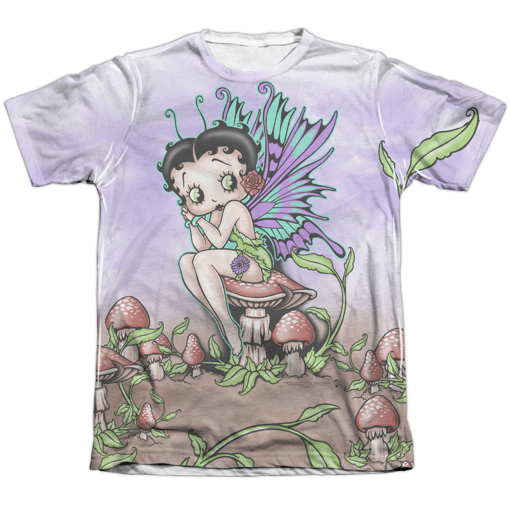 Betty Boop Fairy Mens Sublimation Shirt