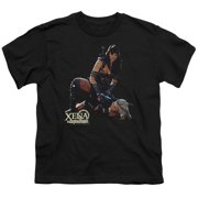 Xena Warrior Princess In Control Big Boys Shirt