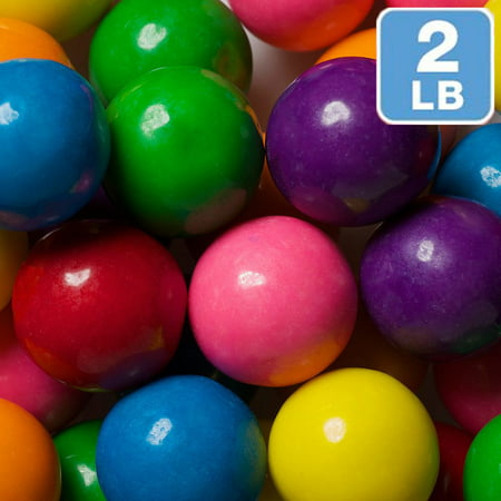 Rainbow Assortment Gumballs - Rainbow Gumballs