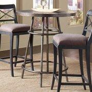 Pulaski Furniture Vintage Tempo Metal Pub Table