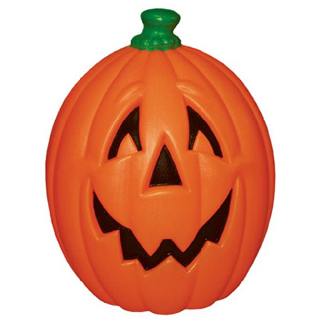 General Foam Plastics H7007TS Orange Light Up Pumpkin - 23 in.