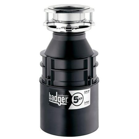 InSinkErator Badger 5XP 3/4HP Under the Kitchen Sink Household Garbage (Best Insinkerator Garbage Disposal)