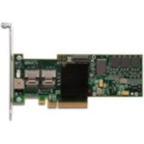 Lenovo Lsi Megaraid 8708em2 8-port Sas Raid Controller - Serial Ata/300 - Pci Express X8 - Plug-in Card - Raid Supported - 0, 1, 5, 6, 10, 50, 60 Raid Level - 2 Total Sas Port[s] - 2 Sas (67y2639)