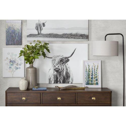 "Marmont Hill ""Pompom Botanical I"" Framed Painting Print"