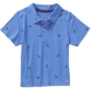 Ht Toddler Boys Ss Printed Polo