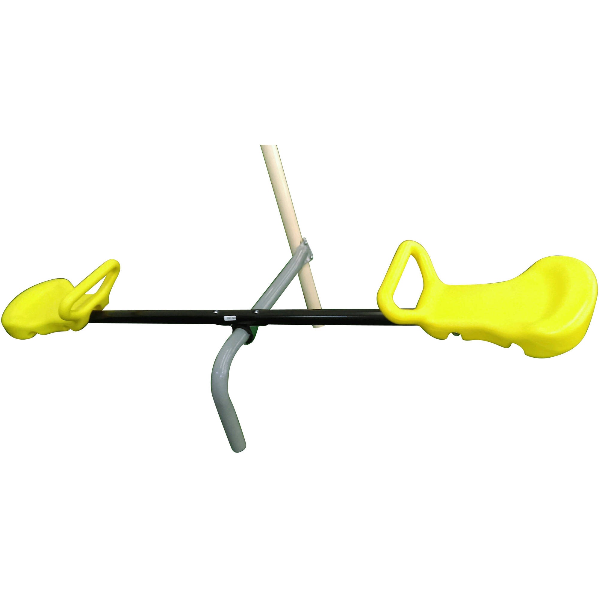 Flexible Flyer Add On Seesaw For Swing Set Grey Black Yellow