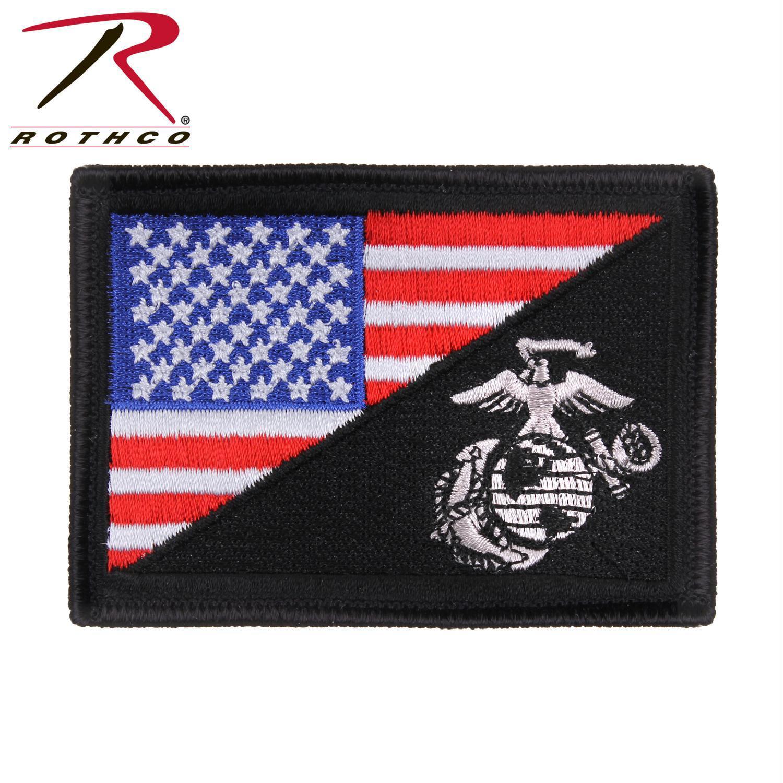 Rothco US Flag   USMC Globe and Anchor Morale Patch - Walmart.com 176557de3b3