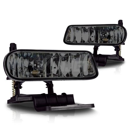 07 Chevrolet Silverado 1500 Light - 99-02 Chevrolet Silverado 1500 2500 Smoked Tinted Fog Lights