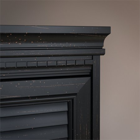 Bush Furniture Fairview Hutch for L Shaped Desk in Antique Black - image 1 de 7