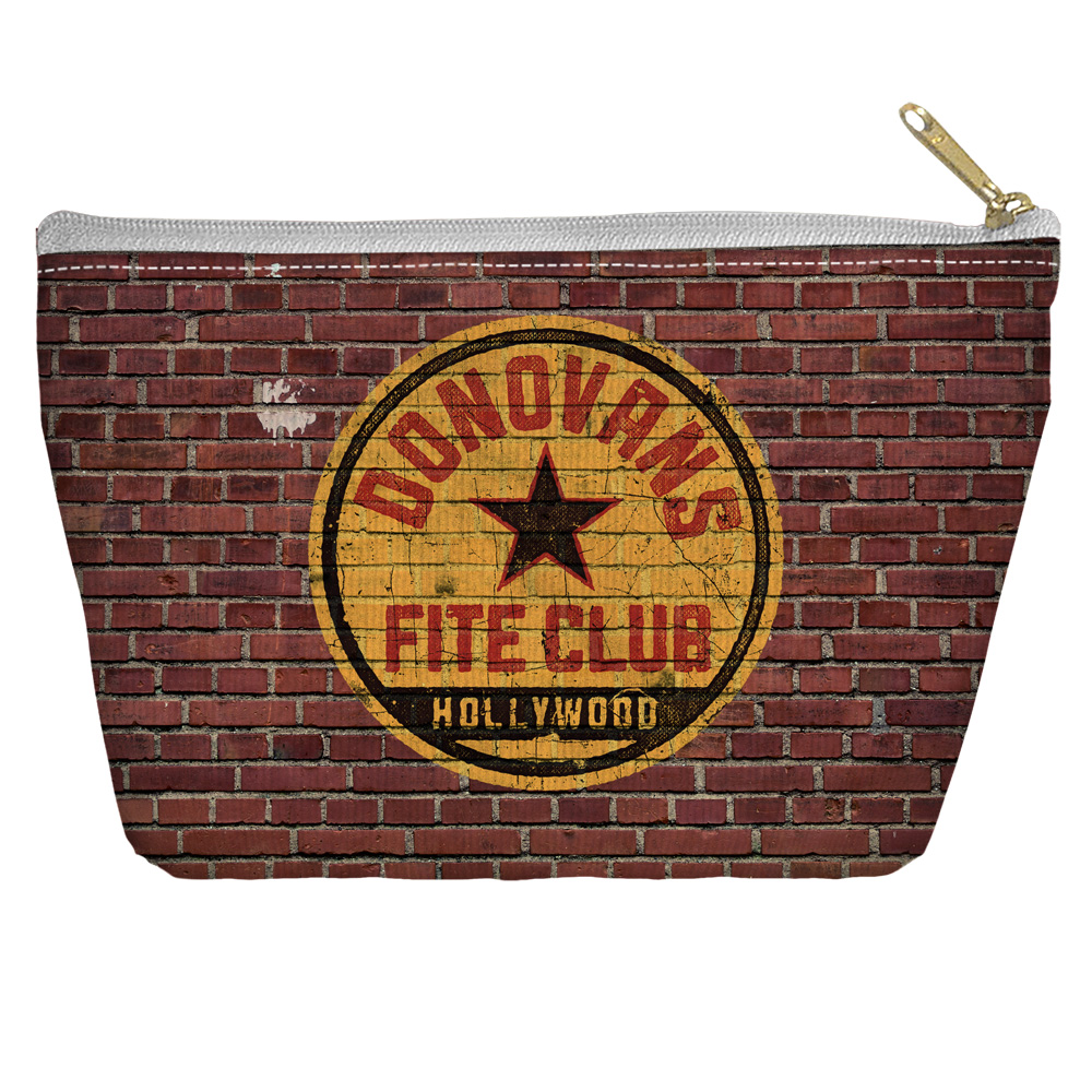 Ray Donovan Fite Club Accessory Pouch White 8.5X6