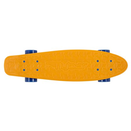 Flybar Skate 22 Inch Mini Plastic Cruiser Complete Skateboard With Strong Custom Injection Molded Deck - Smooth 85A 59mm PU Wheels With High Speed ABEC 7 Bearings ()