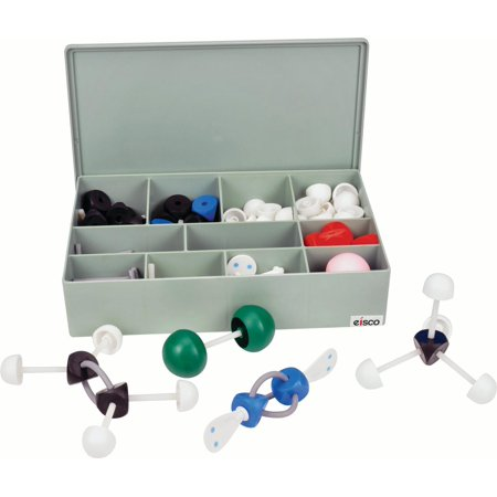 Molecular Scale Demonstration Set (263 Pieces),High Quality Educational Set, Large Pieces, Case Included - Eisco Labs (Molecular Imaging)