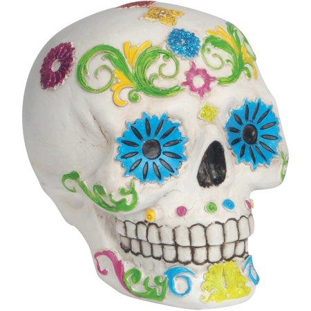 Loftus Day of the Dead Sugar Skull 4.5