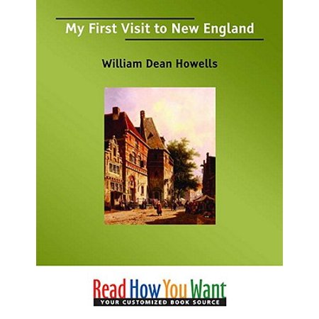 My First Visit To New England - eBook