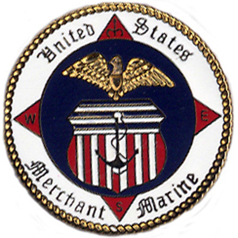 "U.S. Merchant Marine Pin 1"""
