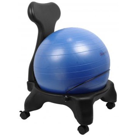 Isokinetics Inc Balance Exercise Ball Chair Standard Or