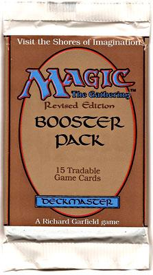 Magic The Gathering Revised Booster Pack by