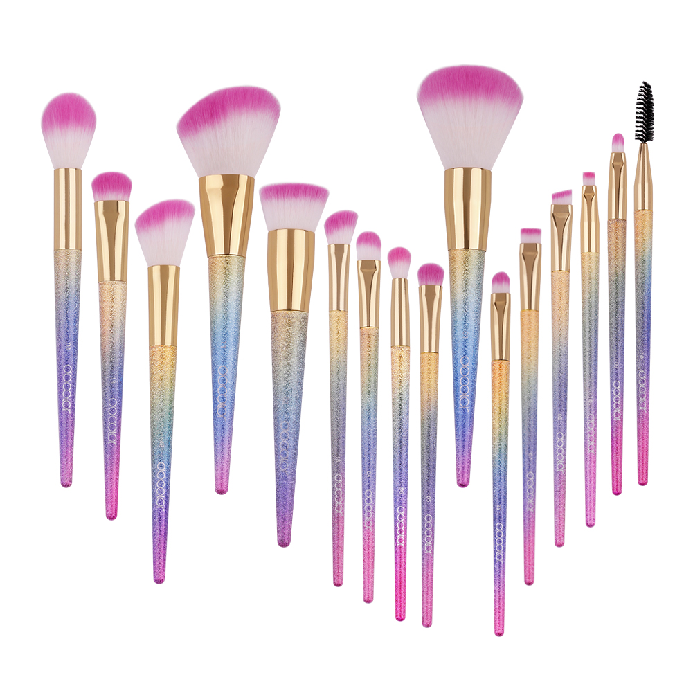 Docolor 16pcs Makeup Brushes Fantasy Make Up Set