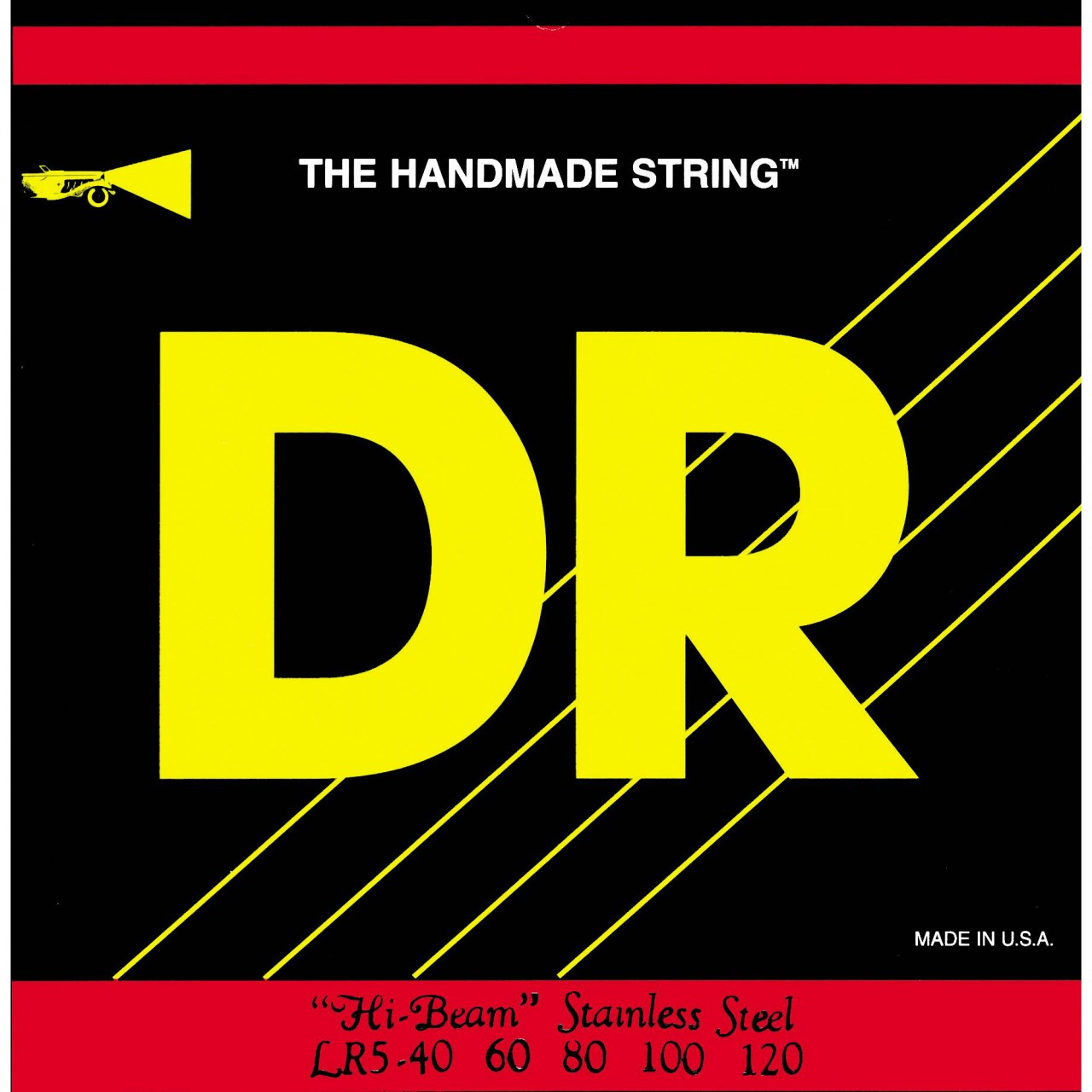 DR Strings Hi-Beams Light 5-String Bass Strings by DR Strings