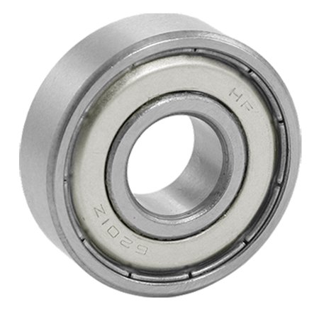 10mm Metric Ball Bearings (Unique Bargains 6201Z Double Metal Shields Metric Ball Bearing 12 x 32 x)