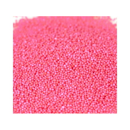 Nonpareils Pink Bakery Topping Sprinkles colored nonpareils 1 - Pink Sprinkles