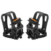LYUMO 1 Pair Nylon Cycling Pedals Toe Clips Straps for Fixie Mountain Bikes Accessories, Bike Accessories, Bike Flat Pedal